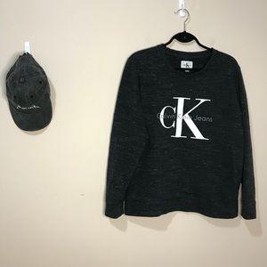 Calvin Klein Crew Neck Logo Sweatshirt
